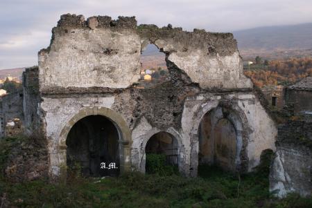 Chiesa di Santa Maria di Gesù - ruderi