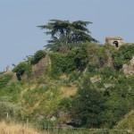 Cinta muraria e campanile della chiesa del monastero di San Giorgio