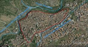 Mura e i tre fiumi