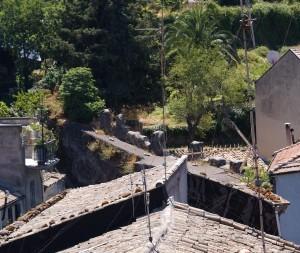 cinta muraria dal castello