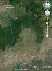 percorso attuale fiume Flascio