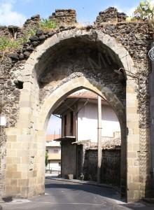 porta aragonese lato interno