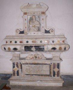 Monumento funebre di Flavia Romeo: com'era com'è